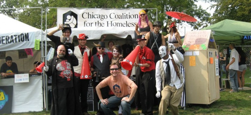 riot fest chicago, nonprofit alliance, chicago coalition for the homeless